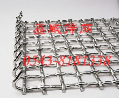 弯钩不锈钢筛网
